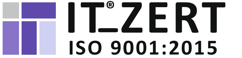 IT Zertifikat ISO 90001:2015