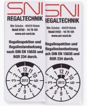 Prüfsiegel SNI Regaltechnik